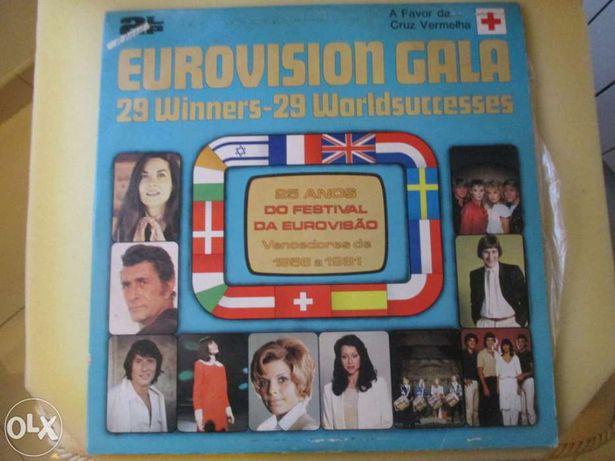 LP' (2) Eurovision Gala (vencedores 1956 a 1981)