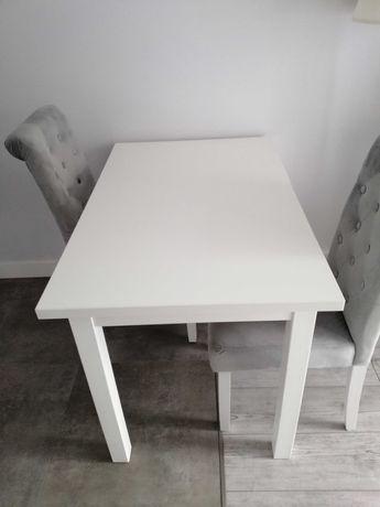 Stół biały do jadalni salonu klasyczny stolik 110x70 drewniany