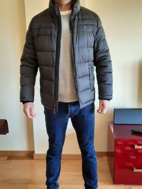 Blusão Preto Calvin Klein - Novo