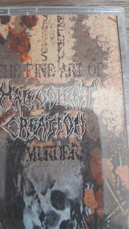 Malevolent Creation - Fine art of murder kaseta