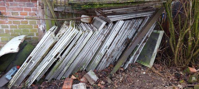 Oddam gratis okna drewniane