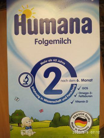 Дитяча суміш Humana 2 600г
