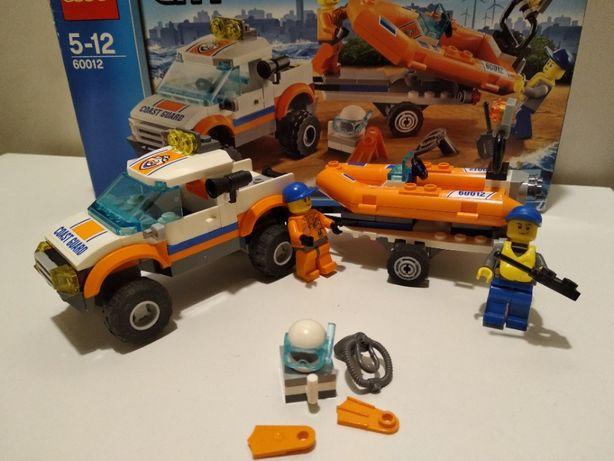 LEGO City Внедорожник и катер 60012