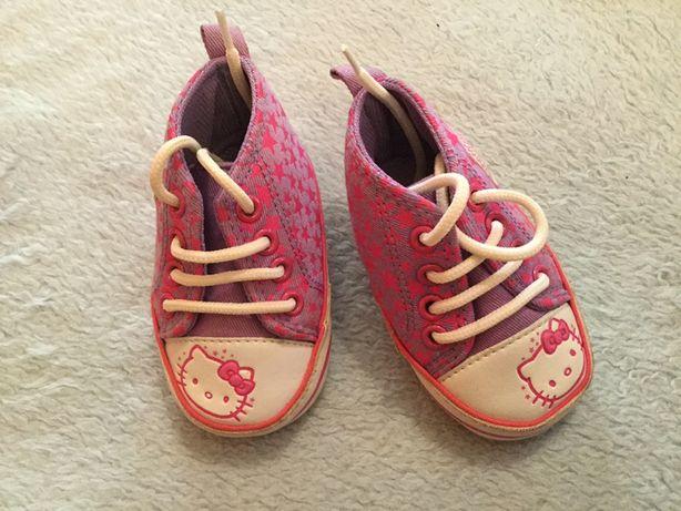 Sapatilhas Hello Kitty de bebe menina