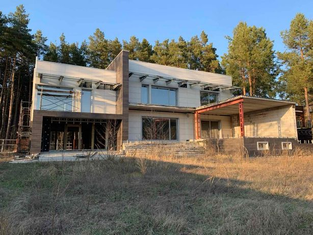 Продажа домовладения в стиле Хай-Тек с выходом на Днепр - Таценки