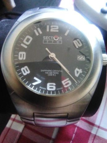 Relógio Sector 770 Sapphire Crystal e relógio Timberland
