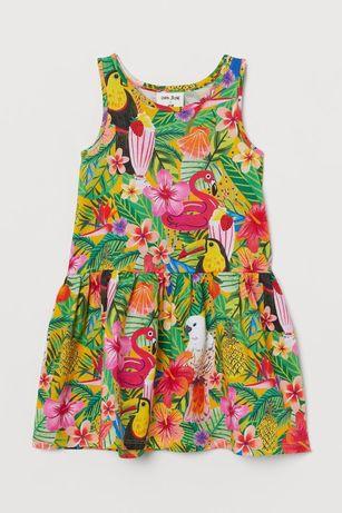 Платье сарафан на девочку 4/6/8/10л H&M,сукня плаття сарафан на літо д
