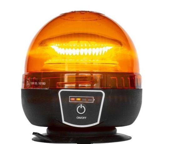 Kogut LED, bezprzewodowa lampa błyskowa ostrzegawcza akumulator + pilo