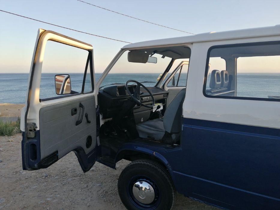 VW Transporter T3 1.6TD 9 LUG Cascais E Estoril - imagem 1