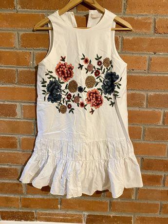 Zara sukienka z haftem xs