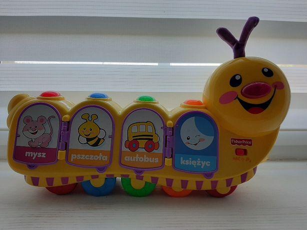 Gąsienica Fisher Price - zabawka interaktywna