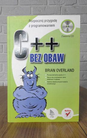 Książka C++ Bez Obaw - Brian Overland - podręcznik programowania