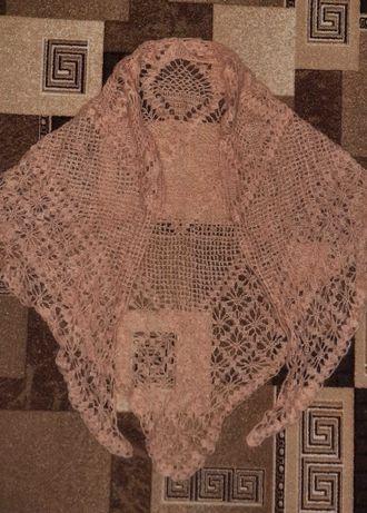 Шаль ,шарф,платок ручная работа