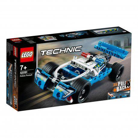 LEGO Technic - Policyjny pościg Pull Back 42091