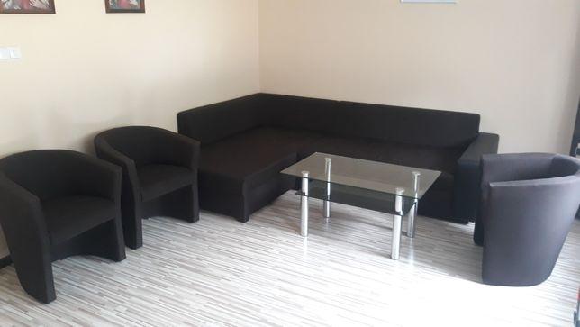 Narożnik plus 3 fotele