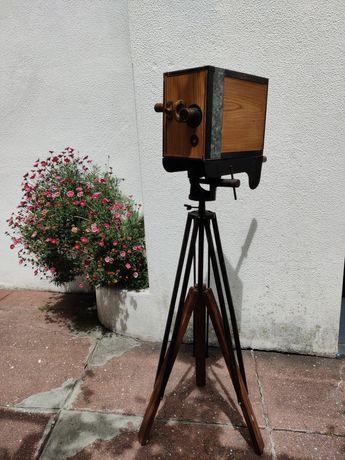 Máquina de filmar vintage decoracao