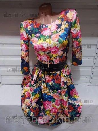 Цветочное платье, платье