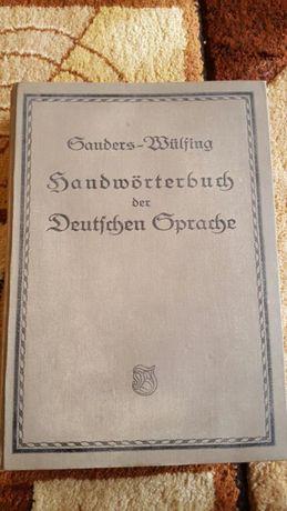 Ponad 100 letni Niemiecki słownik