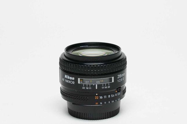 Objectiva Nikkor AF 28mm f/2.8 D