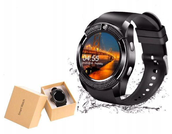 Zegarek Smartwatch Bluetooth GSM Android Aparat SIM
