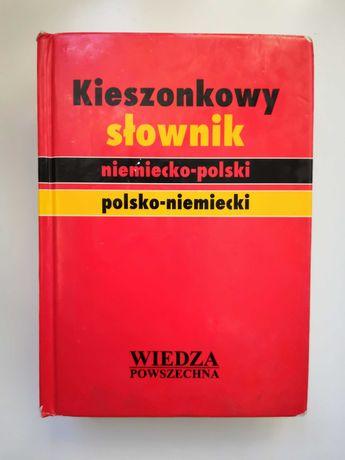 Kieszonkowy słownik niemiecko - polski, polsko - niemiecki.