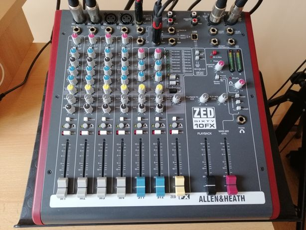 Allen & Heath Zed Sixty-10FX - idealny