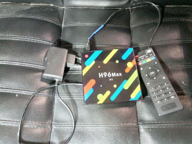 Приставка TV Box H96 MAX + 4GB/32GB