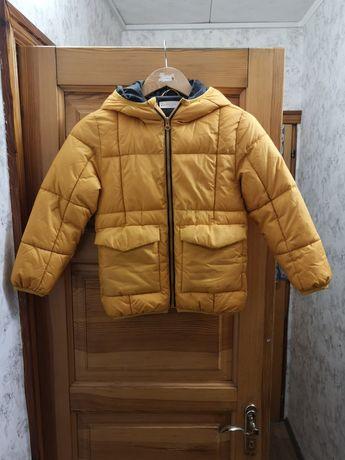 Куртка осенняя для мальчика Mango 128 см, 7 лет