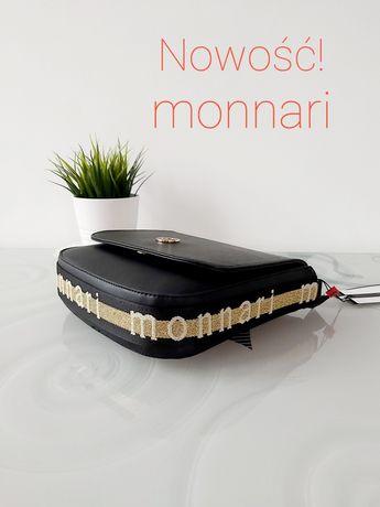 Nowa torebka listonoszka Monnari must have z lampasami