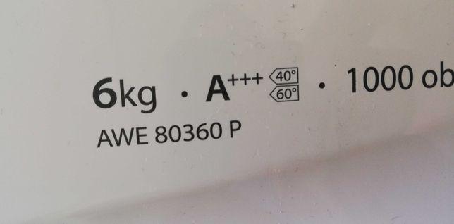 Silnik, pompa i elektronika pralki Whirlpool AWE 80360 P