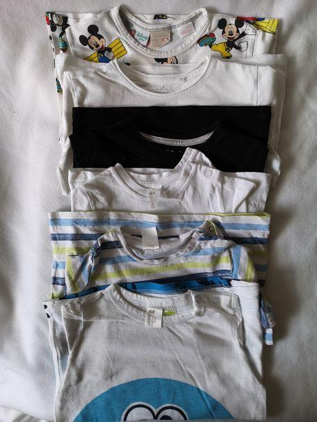 Sprzedam bluzeczki H&M, RESERVED, ZARA r. 92