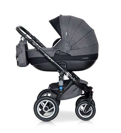 wózek 3w1 kompletny Riko brano gondola, spacerówka, nosidełko