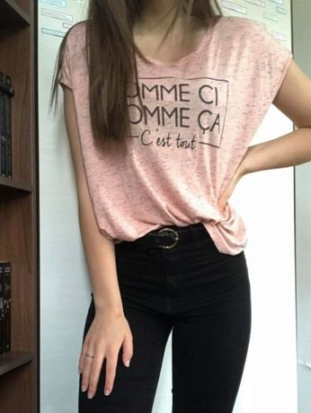 szeroka koszulka