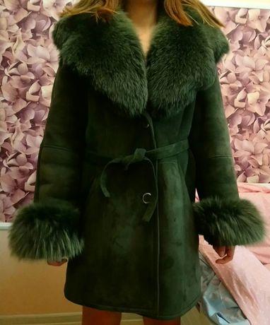 Натуральная дубленка, пальто