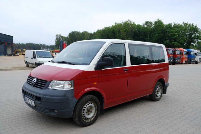 Wynajem Bus VW T5 9 osób z klimatyzacją