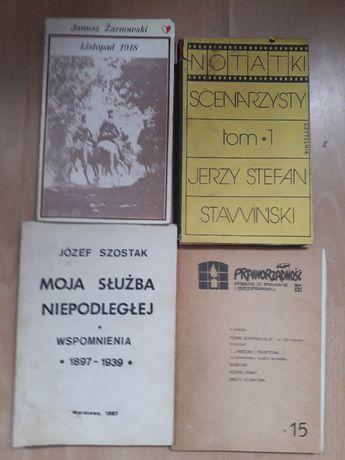 """Jerzy Stefan Stawiński, """"Notatki scenarzysty"""". Tom 1."""