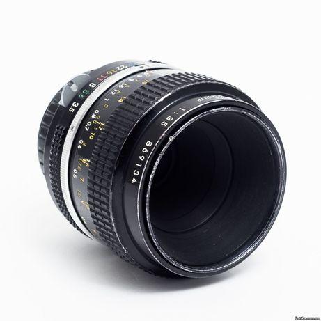 Об'єктив Nikon 55mm f/3.5 nonAi Micro-Nikkor