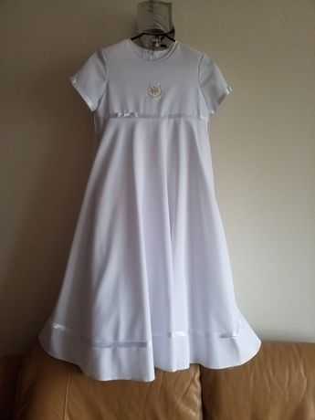 Sukienka komunijna (alba) rozmiar 134-140