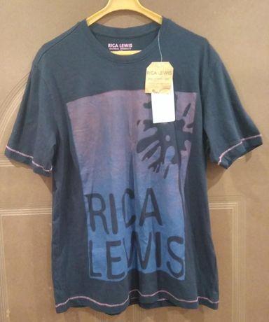 T-Shirt nowy męski RICA LEWIS roz. L