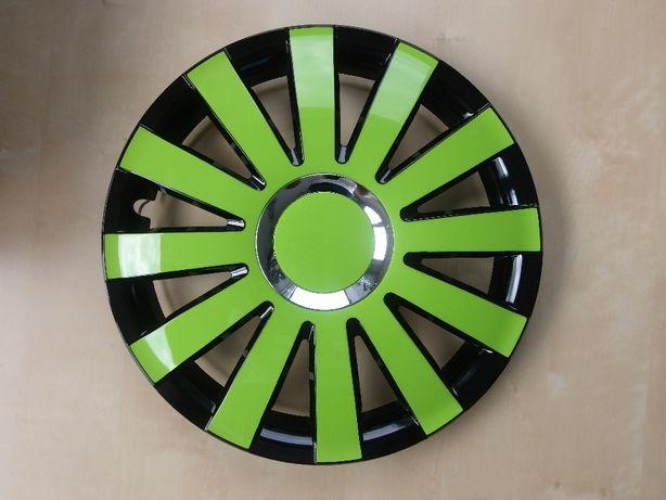 Kołpaki 13 14 Zielone Fiat Seicento Panda Ford Ka Toyota Yaris i Inne