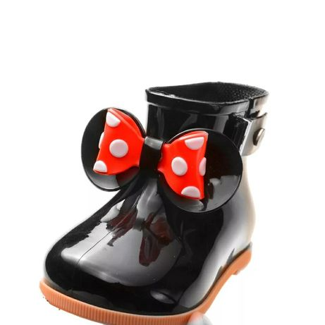 Nowe Kalosze dziecięce Melissa Meliski Gumowce Myszka Minnie Mouse