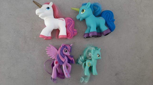 Kucyki Pony zestaw 4 sztuk