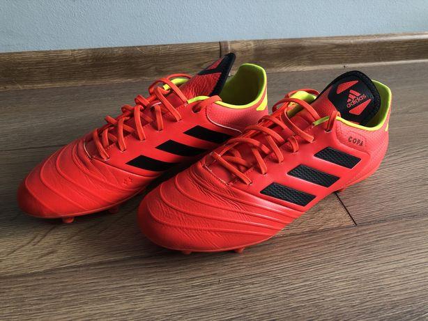 Korki Adidas COPA czerwone rozmiar 44 2/3, 28,5 cm piłka nożna