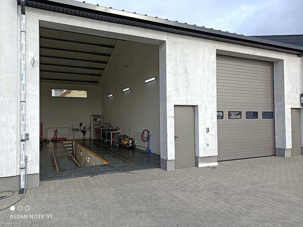Warsztat (garaż) na godziny do wynajęcia - stanowisko (kanał)