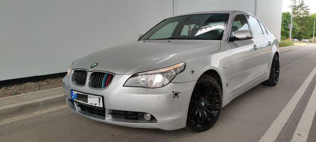 BMW E60 2005r 3.0D 218KM Xenon, skóry, sporty, możliwa zamiana