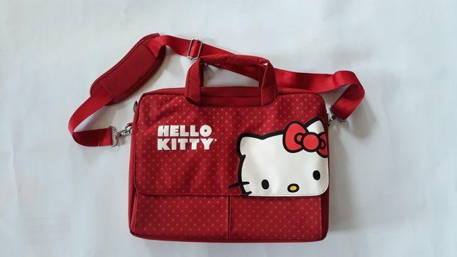 Oryginalna torba na laptopa firmy Hello Kitty.
