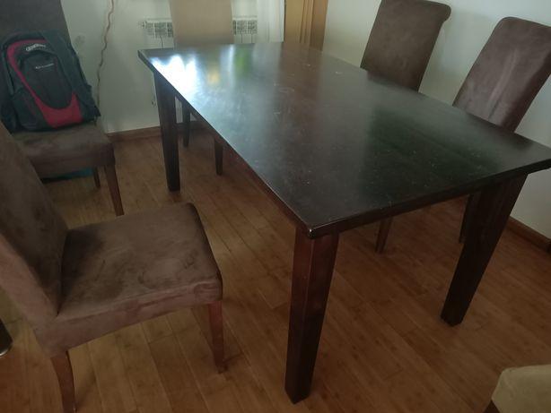 Stół z litego drewna brzozowego - Oireczko