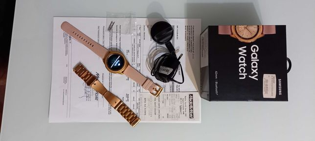 Samsung galaxy watch 42mm Rose Gold + gratis