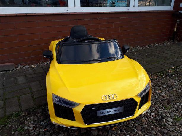 Auto na akumulator Audi R8 z pilotem dla dzieci nawet od 1 roku