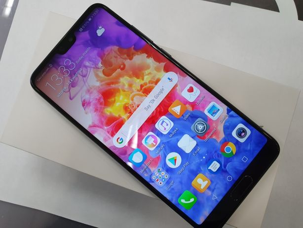 Huawei P20 128GB/ Black/ Dual SIM/ 100% sprawny/ Gwarancja/ sklep